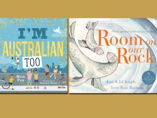 Stuck in a Book: 'I'm Australian Too' & 'Room On Our Rock'