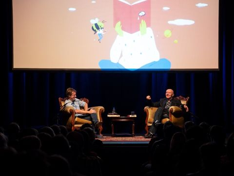 Andrew Stafford and Irvine Welsh