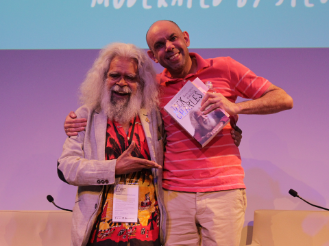 Uncle Jack Charles in conversation with Steven Oliver