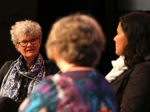 Kate Grenville with Katherena Vermette and Susan Harris Rimmer