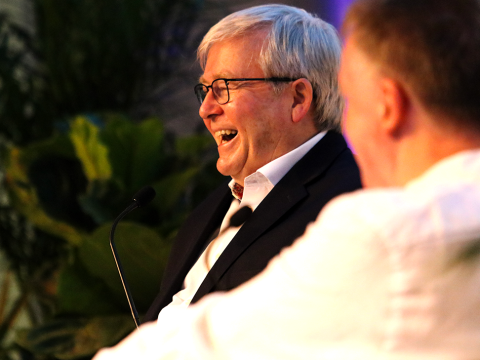 Kevin Rudd on Being PM
